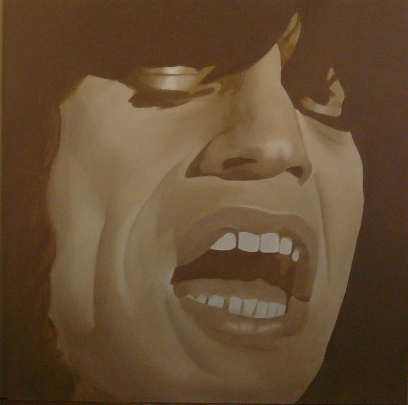 Mick Jagger por Seignette